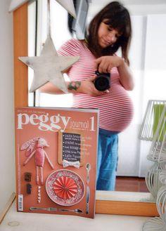 In dolce attesa...con Peggy!