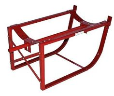 Milwaukee Hand Trucks 40157 55-Gallon Drum Cradle without Wheels by Milwaukee. $77.37. From the Manufacturer                This Milwaukee Drum Cradle has heavy-duty 1.25-Inch steel tubing, an 800-Pound load capacity, and holds 30 or 55 gallon drums. It simplifies storage, loading, unloading and on the job dispensing of 55 gallon steel drums. Cradle frame is channeled steel, cross-braced for rigidity. Non-sparking oil and chemical-resistant wheels mounted on the inside o...