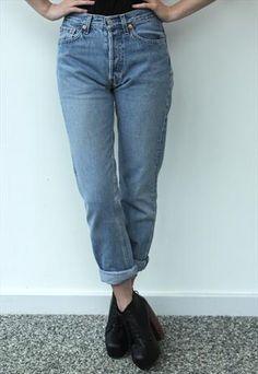 550 Levis Womens Jeans