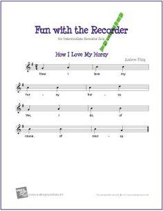 Jingle Bells Lyrics For Recorder