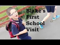 Blake's First School Visit (10 to 16 October 2016)