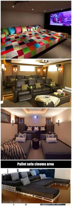 More ideas below: DIY Home theater Decorations Ideas Basement Home theater Rooms Red Home theater Seating Small Home theater Speakers Luxu ..