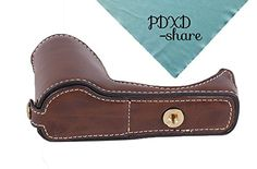 PDXD-share Camera Half Leather Case Bottom Case for Sony ... http://www.amazon.com/dp/B01F8CHCJ6/ref=cm_sw_r_pi_dp_cQelxb19WNVFK