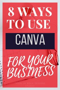Using Canva isn't just for bloggers and graphics designers. In fact, Canva is so easy to use non-designers LOVE to use it. But did you know you can use Canva in 8 different ways for building your business? Check out all the ways you can use Canva for busi