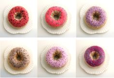knitted donuts