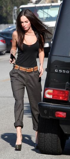 50 Great Megan Fox Street Style Outfits @styleestate (Top Summer Simple)