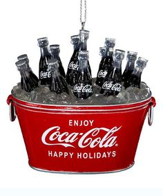 Look what I found on #zulily! Coca-Cola Ice Cold Ornament by Coca-Cola  #zulilyfinds