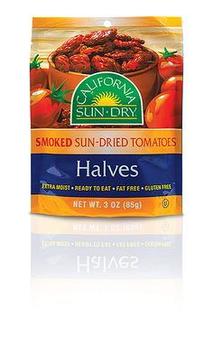 Smoked Sun-Dried Tomato Halves