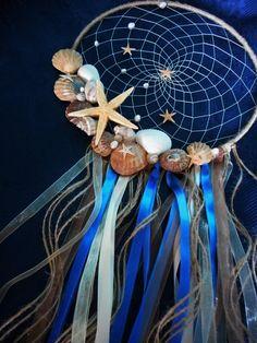 Dream catcher Summer Sea Stars by SweetDreamsSparkle on Etsy