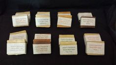 Suzy's Treasure Chest - Adam's Handmade All Natural Handmade Goats Milk Soap in assorted scents. Wine Bottle Gift, Recycled Wine Bottles, Rose Soap, Set Up An Appointment, Online Gift Shop, Goat Milk Soap, Wine Time, Treasure Chest, Suzy