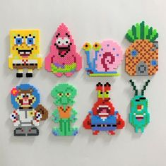 Perler Bead Designs, Easy Perler Bead Patterns, Melty Bead Patterns, Perler Bead Templates, Hama Beads Design, Beading Patterns, Loom Patterns, Melty Bead Designs, Jewelry Patterns