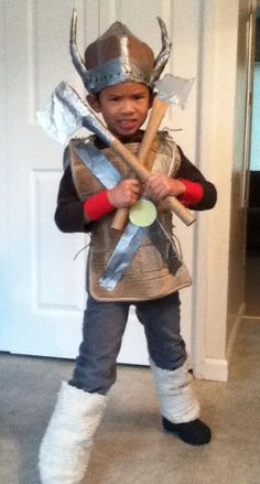 Homemade Viking costume