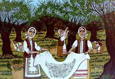 Θέμα Μαρτίου: Λαϊκή Παράδοση στην Ελλάδα! Palestine History, Palestine Art, Environmental Education, Teaching Biology, Minoan, Greek Art, Biotechnology, Stem Activities, School Projects