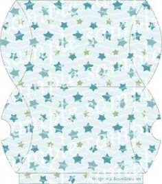 Stars, Blue, and Cuteness: an awesome printable pillow box