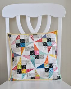 Such a cute, easy block using Jen Kingwell's fabric