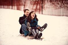 Snowy date
