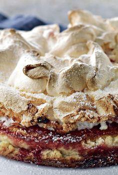 Danish Cake, Beautiful Desserts, Food Cakes, Let Them Eat Cake, Cake Cookies, Food Inspiration, Great Recipes, Cake Recipes, Cake Decorating