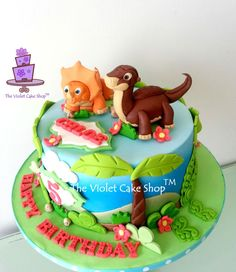 LAND BEFORE TIME Dino Cake