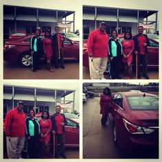 "Mr & Mrs Steele are happy customers that bought 13 Hyundai Sonata  With Richie Ray as the salesman who they adore  www.paylessjackson.com ""WHY PAY MORE WHEN YOU COULD PAY LESS"""