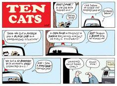 Ten Cats Comic Strip, May 31, 2015 on GoComics.com
