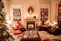 My living room is overflowing with books and magazines at the moment. Maximalist Interior, My Living Room, House Tours, Bookshelves, Cosy, In This Moment, Magazines, Glow, Homes