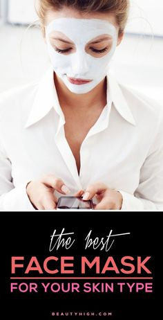 Find the best face masks for your skin type—whether you have dry skin, oily skin, dull skin, or acne prone skin. skin face skin no makeup skin requires commitment skin secrets skin tips Beauty Tips For Face, Health And Beauty Tips, Beauty Secrets, Beauty Skin, Hair Beauty, Beauty Advice, Skin Secrets, Face Tips, Beauty Care