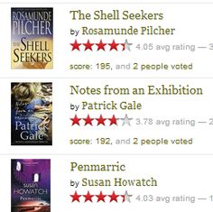 Pilcher and more....Cornwall books