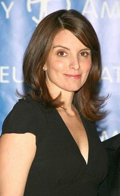 tina fey hairstyles : Tina Fey Hairstyles Tina Fey Long Layered Straight Hairstyle
