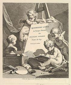 Frontispiece, from Quatrieme Livre de Groupes d'Enfans (Fourth Book of Groups of Children)