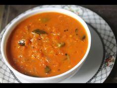 Onion Tomato Gotsu Recipe - Sidedish for Idli & Dosa