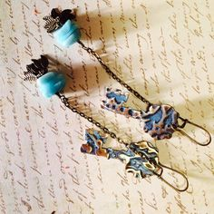 A personal favorite from my Etsy shop https://www.etsy.com/listing/213776334/keys-to-the-attic-ooak-vintage-style