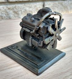 Detroit Diesel Allison V8 Engine Model Vintage Desk Paperweight Pewter  | Collectibles, Advertising, Automobiles | eBay!