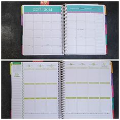 Monthly and Weekly Layout