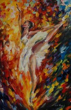 """ballerina"" leonid afremov"