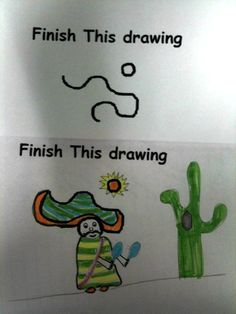 Test Taking: Finish The Drawing