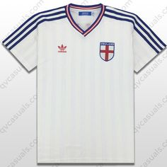 Buy adidas Originals Mens England E12 Retro Football Jersey at QV casuals. Product code X27985. Save on a huge range of big brand tees.