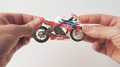 """Honda - """"Hands"""" by Analog. Directors Smith & Foulkes together with Wieden + Kennedy have launched a new set of animated idents for Honda featuring miniature versions of some of the automotive brand's best-known inventions."""
