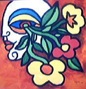 pittura.occhio.fiori