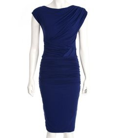 Love this Royal Blue Isla Dress by The Jersey Dress Company on #zulily! #zulilyfinds