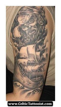 Celtic Viking Tattoo 10 - http://celtictattooist.com/celtic-viking-tattoo-10/