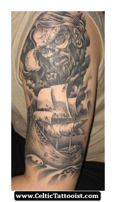 Celtic Viking Tattoo 10 - http://celtictattooist.com/celtic-viking-tattoo-10/