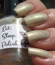 Eat Sleep Polish custom - Elvis is My Homeboy | Oh My Swatch