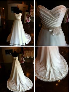 bella rosa: Wedding Gown Wednesday: Cassidy