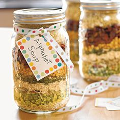 http://jamiebrock.hubpages.com/hub/Frugal-Handmade-Gift-Ideas-Gifts-In-a-Jar