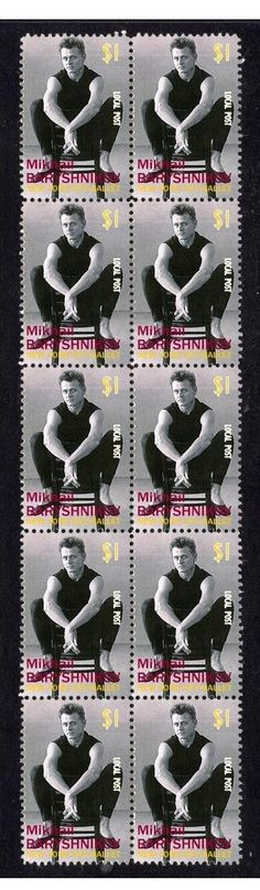 Mikhail Baryshnikov NY Ballet Strip of 10 Mint Stamps 1 | eBay
