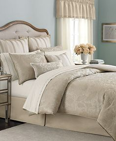 Martha Stewart Collection Bedding, Gated Garden 24 Piece Comforter Sets