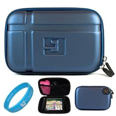 Blue EVA Durable 5.2-inch Protective GPS Carrying Case with Removable Carbineer for TomTom VIA 1505TM / 1505M / 1535TM 5 inch Portable GPS Navigation System + SumacLife TM Wisdom Courage Wristband by GPS Accessory. $11.99. Safely carry and protect your GPS with our new and improved SumacLife 5.2 inch GPS Carrying Case. Its durable hard shell exterior and soft microfiber interior lining provide your GPS maximum protection against bumps, dents, scratches, and ever...