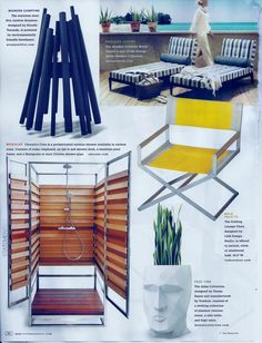 Oborain showers featured in in @New York Spaces July/August 2013 #press #media #outdoor #showers