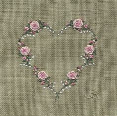 Jo Butcher, Embroidery Artist - Rose