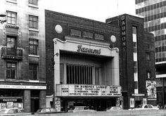 """The Gaumont Palace Theatre opened on February 1931 with Ronald Colman in """"Raffles"""". It was the first cinema built purely by Gaumont British The. Birmingham University, Birmingham City Centre, Art Deco Buildings, Old Buildings, Old Pictures, Old Photos, Birmingham England, Walsall, Salford"""